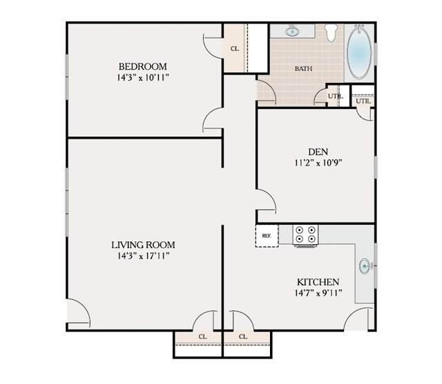 Floor plans kendall court apartments for rent in north for 11 brunel court floor plans